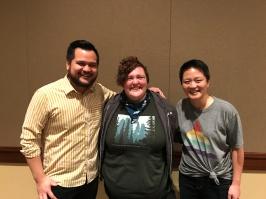 Tobin Low and Kathy Tu of WNYC's Nancy!